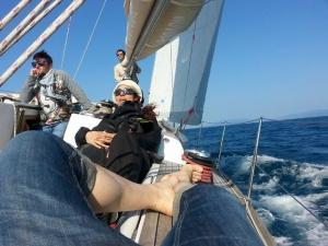 Week end in barca a vela a Porto Azzurro