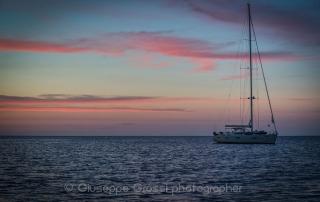 workshop fotografico vela nuvola ala tramonto