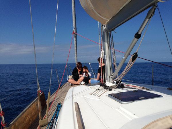 vacanza in barca a vela l'ideale per i figli